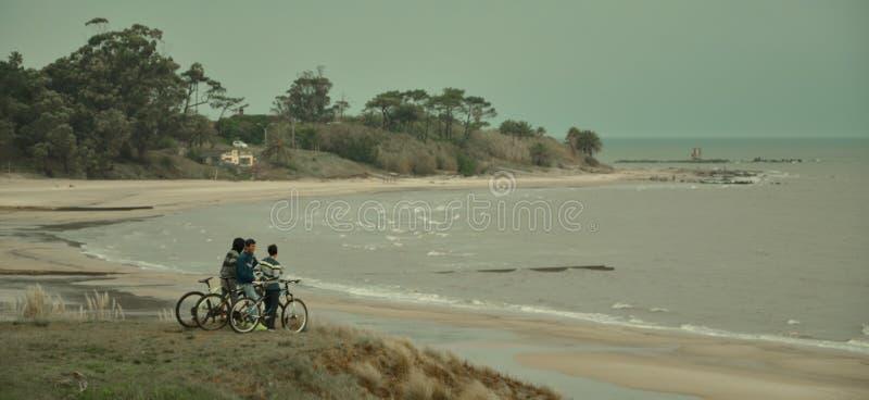 Nuestra playa (nasz plaża) obrazy stock