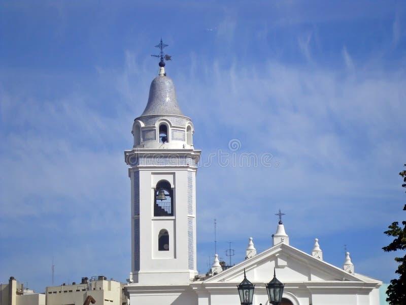 Nuestra Señora del Pilar Church stock foto