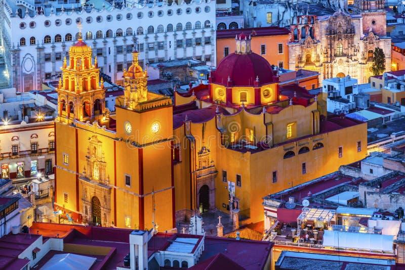 Nuestra señora Basilica Guanajuato Mexico foto de archivo libre de regalías