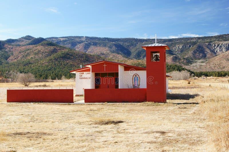 Nuestra señora de la iglesia de Guadalupe fotos de archivo