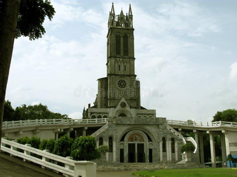Nuestra señora de Lourdes Grotto Church, San Jose del Monte, Bulacan imagen de archivo libre de regalías