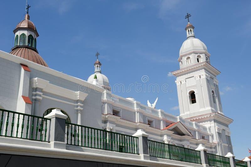 Nuestra Senora de la Asuncion Cathedral en Santiago de Cuba imágenes de archivo libres de regalías