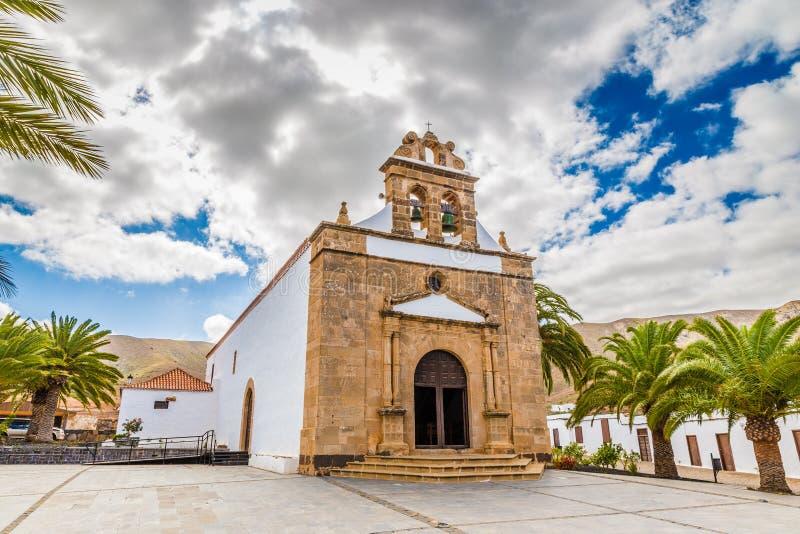 Nuestra Senora De La Pena - Fuerteventura, Spanje stock foto's