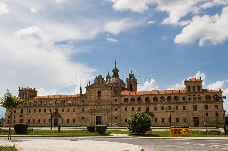 Nuestra Senora de losu angeles Antigua szkoła obraz royalty free