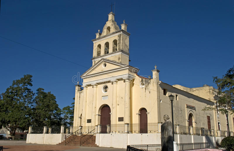 Nuestra Senora del Carmen Church, Santa Clara, Kuba arkivfoto