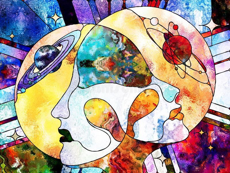 Nuestros universos stock de ilustración