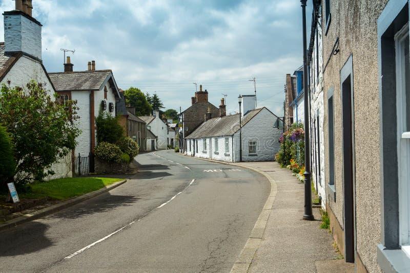 Nueva abadía, y abadía del amor, Dumfriesshire, Escocia imagenes de archivo