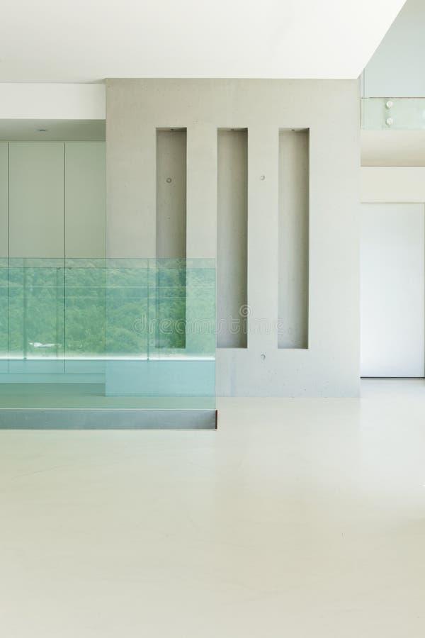 Nueva arquitectura, pasillo imagen de archivo