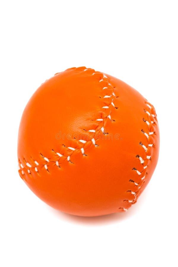 Nueva bola del béisbol fotografía de archivo