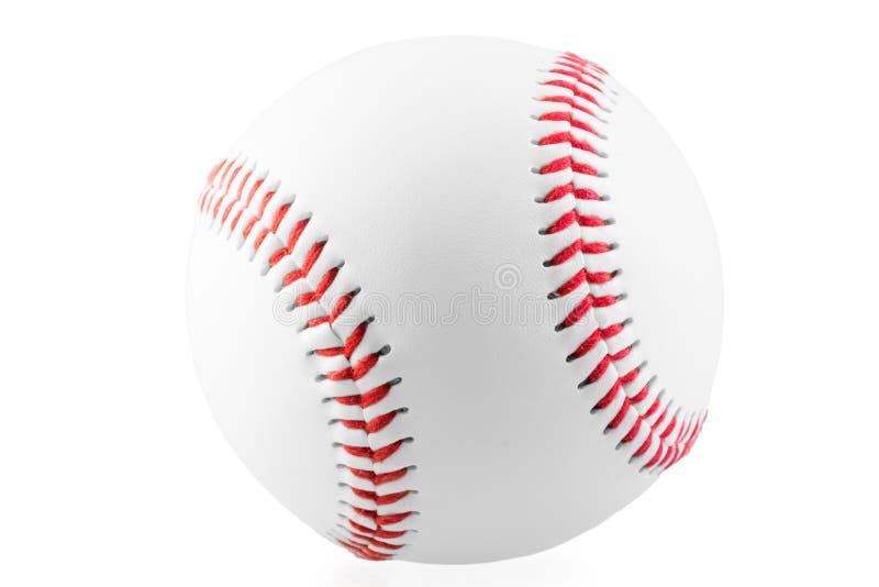 Nueva bola para el juego del béisbol fotografía de archivo