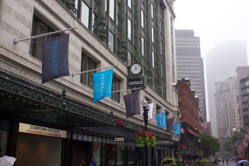 Nueva Boston Massachusetts tienda de Primark foto de archivo libre de regalías