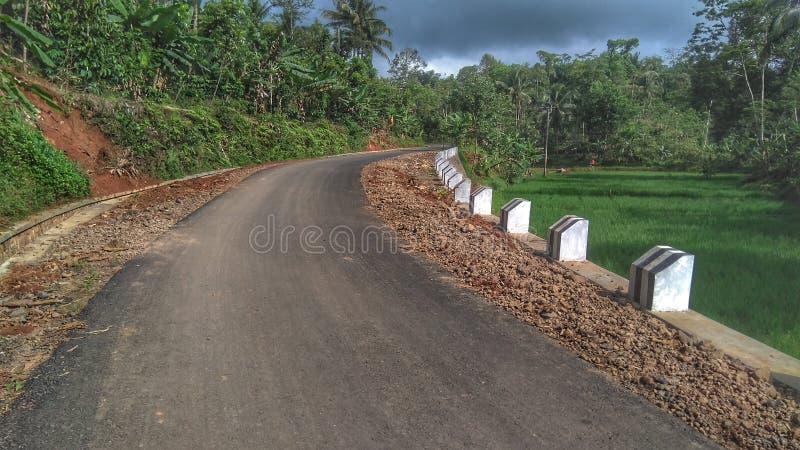 Nueva carretera peatonal fotos de archivo