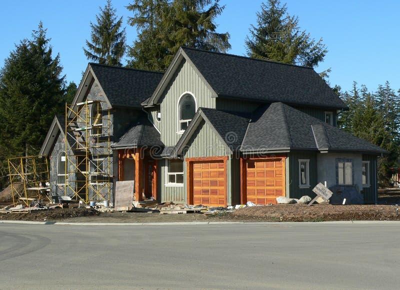 Nueva casa foto de archivo