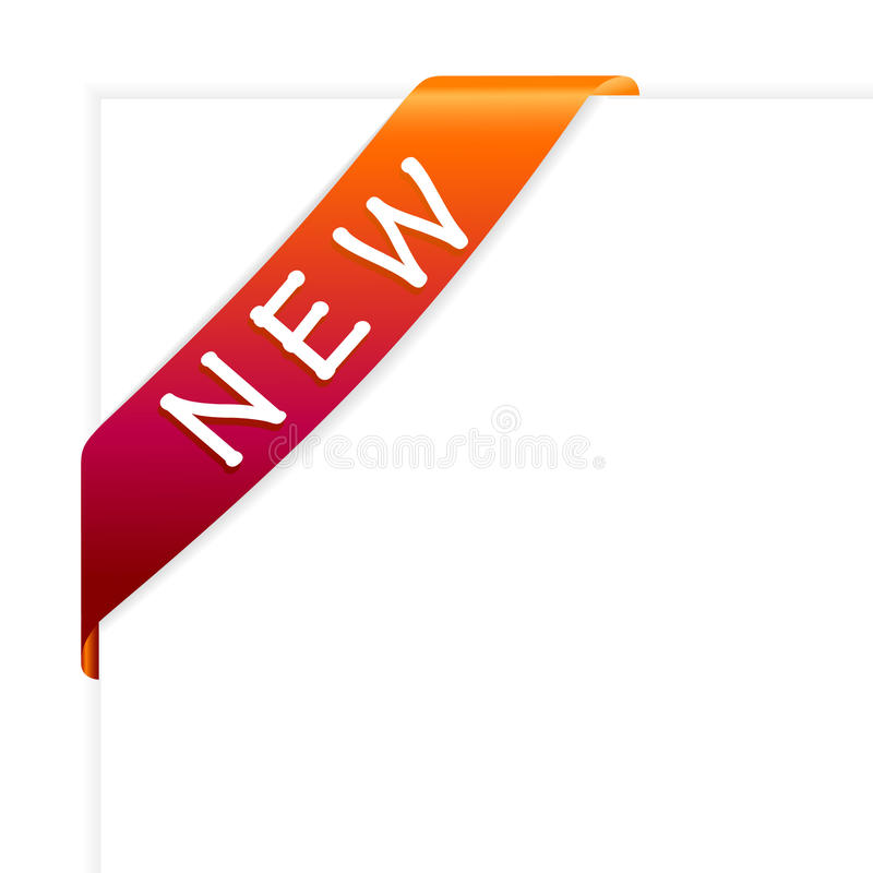 Nueva cinta L ilustración del vector