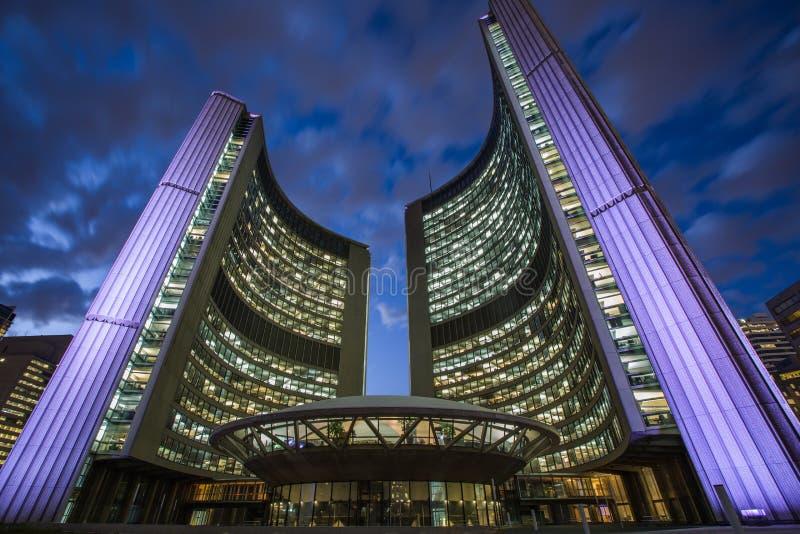 Nueva ciudad Hall& x28; Toronto& x29; fotos de archivo libres de regalías