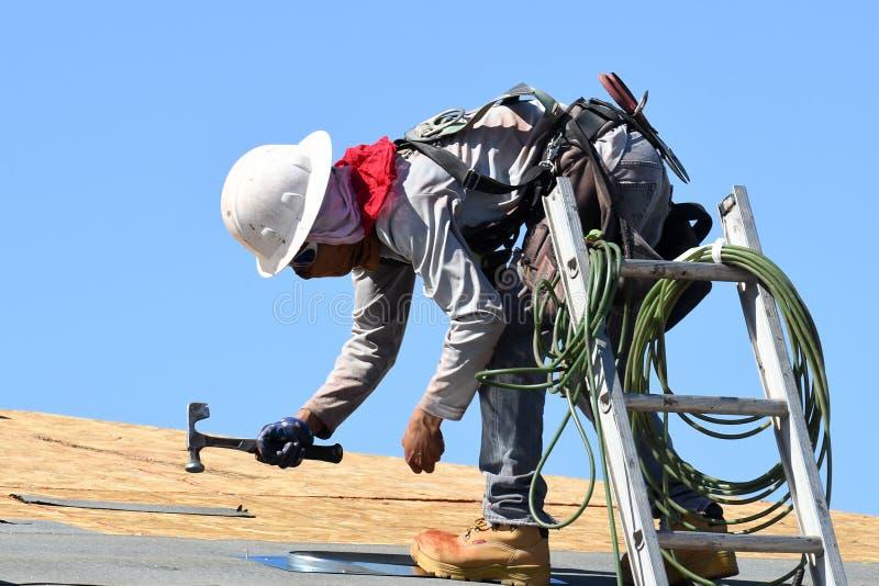 Nueva construcción casera en el sudoeste imagen de archivo libre de regalías