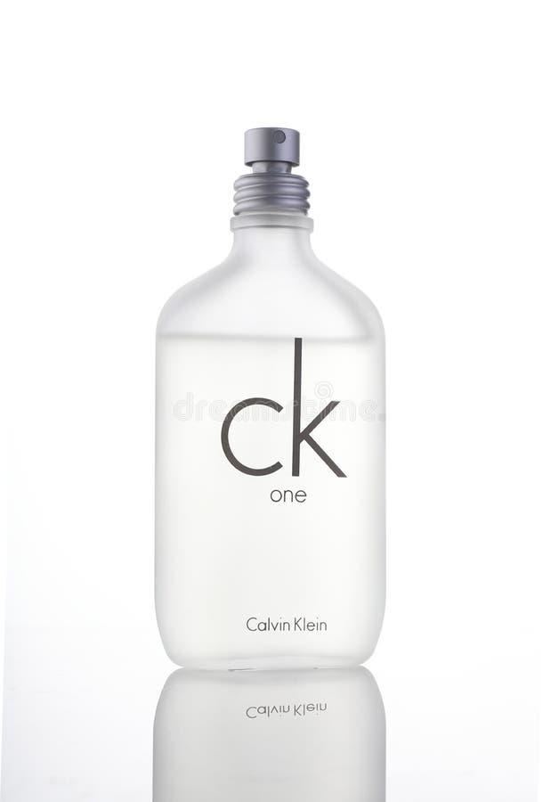 Nueva Deli, el 7 de abril de 2018 - estudio Sho del perfume de Calvin Klein CK una imagen de archivo