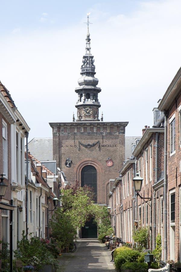 Nueva iglesia en Haarlem, Holanda fotografía de archivo libre de regalías