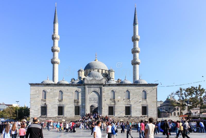 Nueva mezquita en Estambul Turqu?a fotografía de archivo