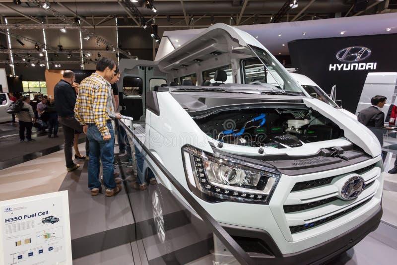 Nueva pila de combustible de Hyundai H350 imágenes de archivo libres de regalías