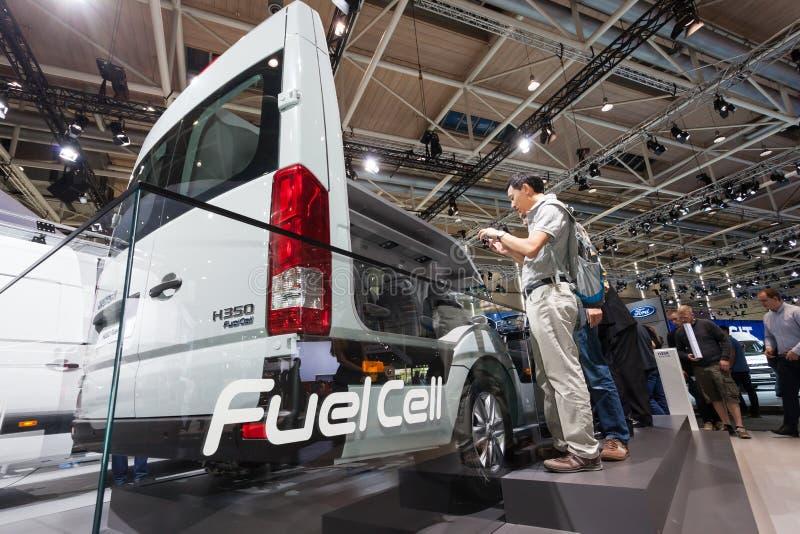 Nueva pila de combustible de Hyundai H350 imagenes de archivo