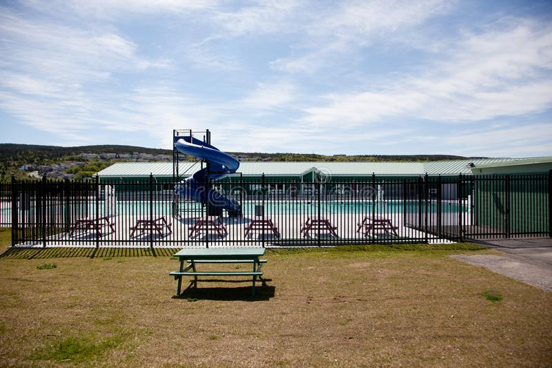 Nueva piscina del parque de Bowring imágenes de archivo libres de regalías