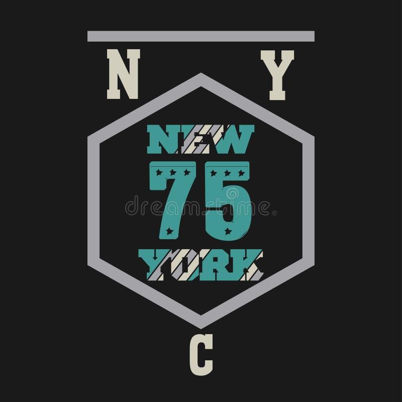 Nueva York Brooklyn stock de ilustración