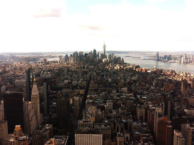 Nueva York de arriba fotos de archivo