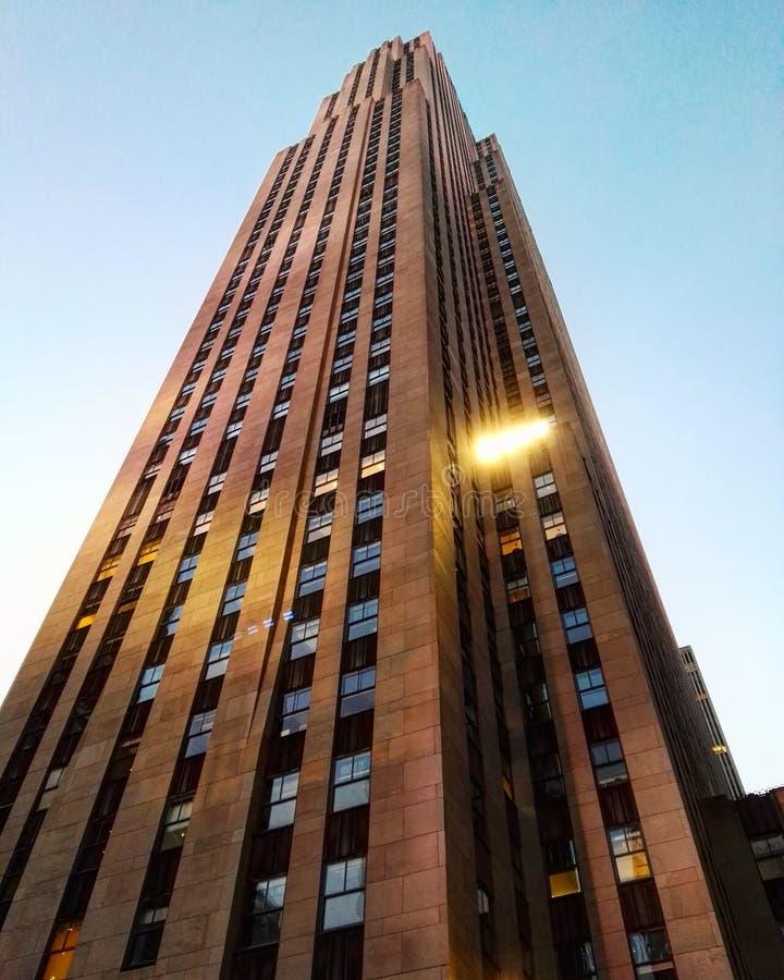 Nueva York de Rockefeller imágenes de archivo libres de regalías