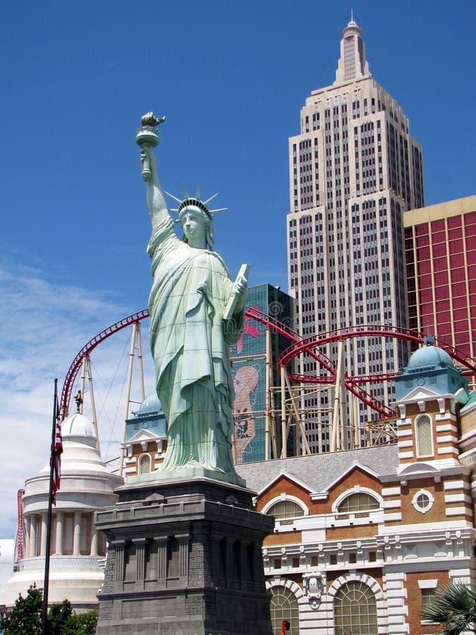Nueva York en Las Vegas imagen de archivo libre de regalías