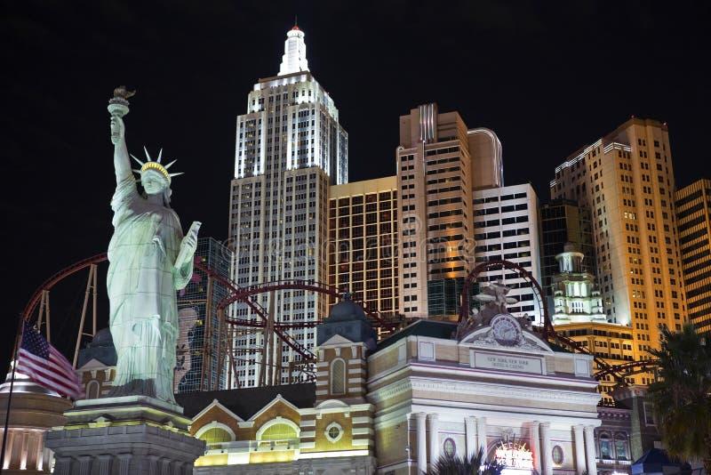 Nueva York en Las Vegas foto de archivo