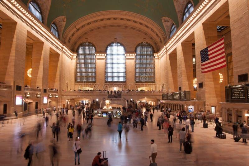 Nueva York Grand Central Termina imágenes de archivo libres de regalías