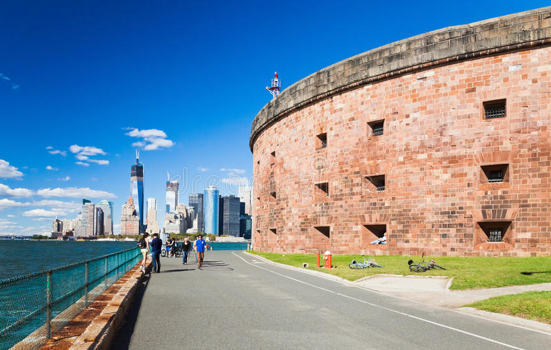 NUEVA YORK - isla de los gobernadores fotografía de archivo libre de regalías