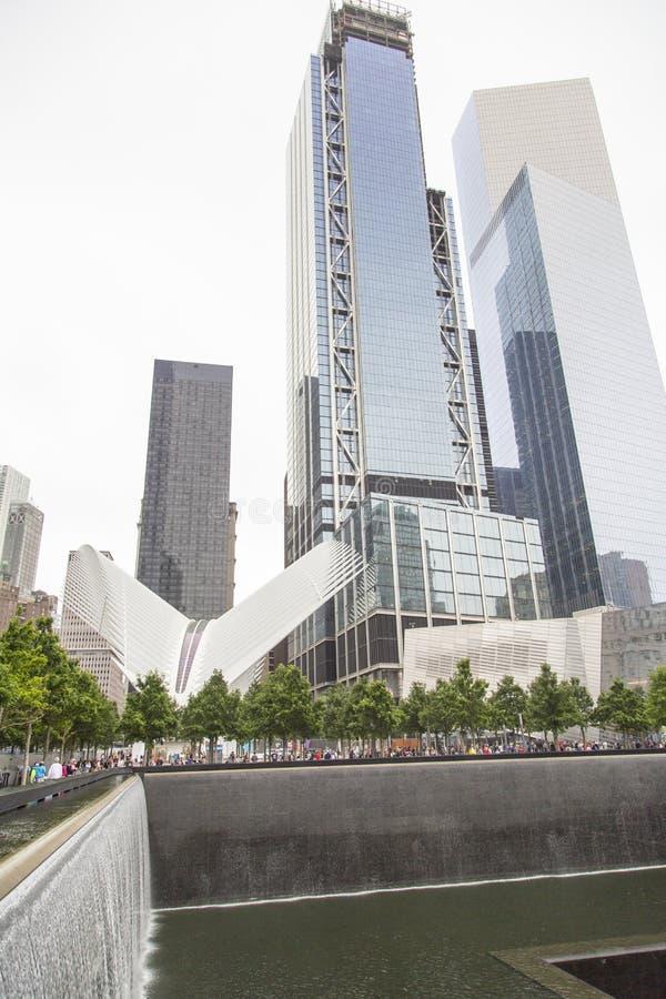 Nueva York, Lower Manhattan y distrito financiero fotos de archivo libres de regalías