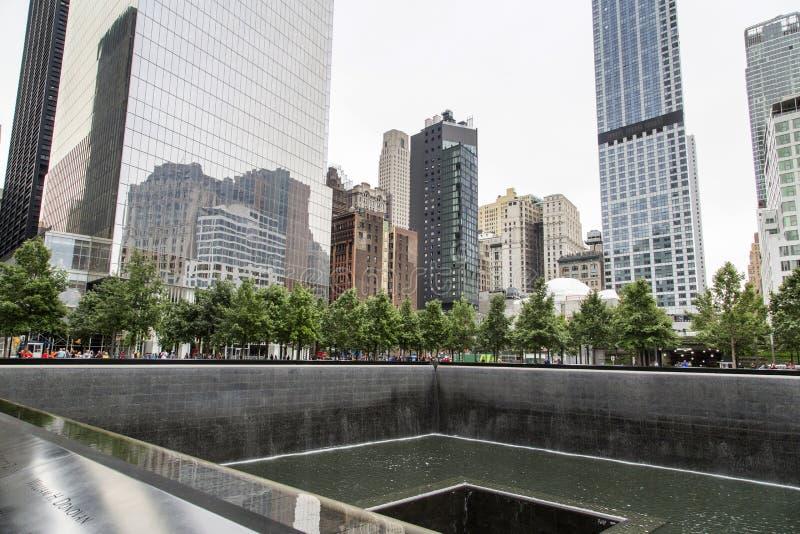 Nueva York, Lower Manhattan y distrito financiero imagen de archivo