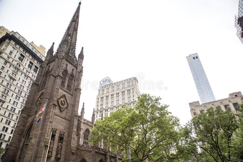 Nueva York, Lower Manhattan y distrito financiero fotografía de archivo