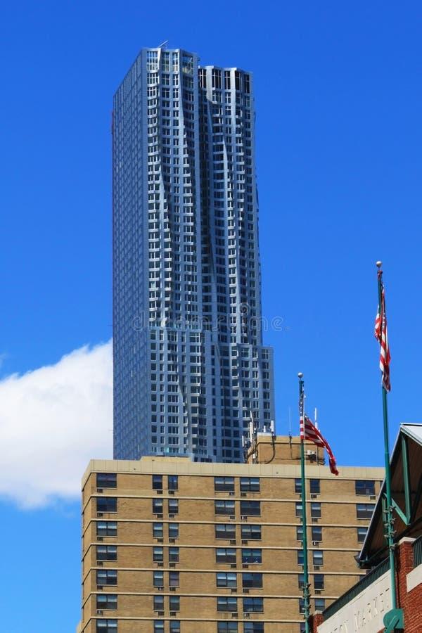 Nueva York por Gehry - New York City fotos de archivo