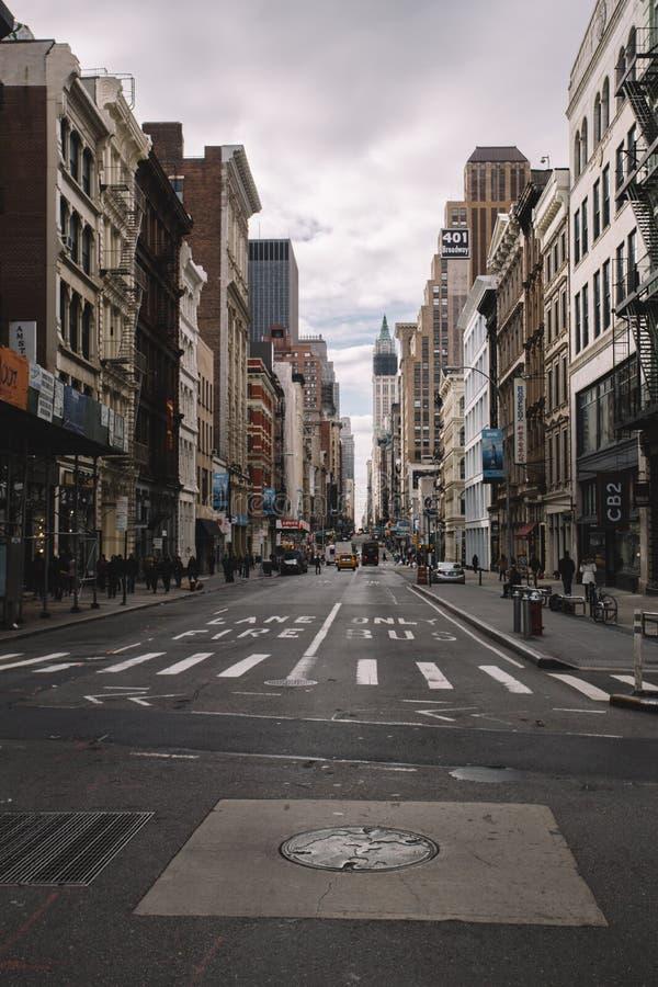 Nueva York SoHo III fotografía de archivo libre de regalías