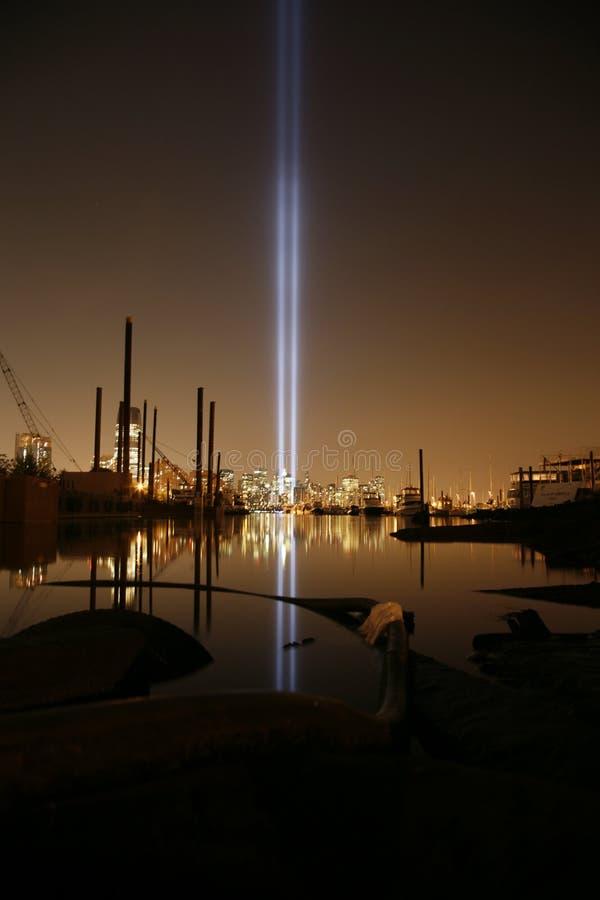 Nueva York típica por noche fotografía de archivo libre de regalías