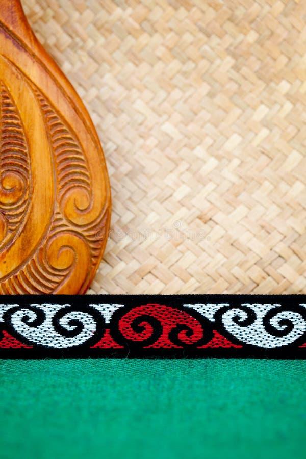 Nueva Zelanda - tema maorí imágenes de archivo libres de regalías