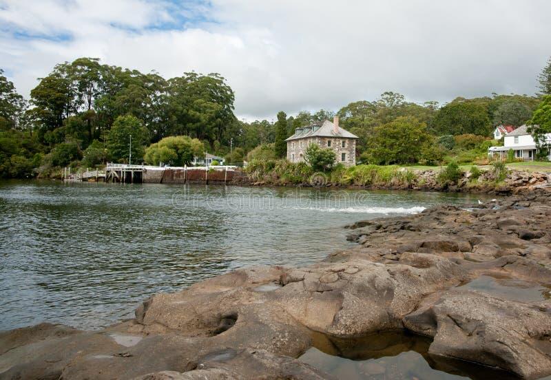Nueva Zelandia, río de Kerikeri. imagenes de archivo