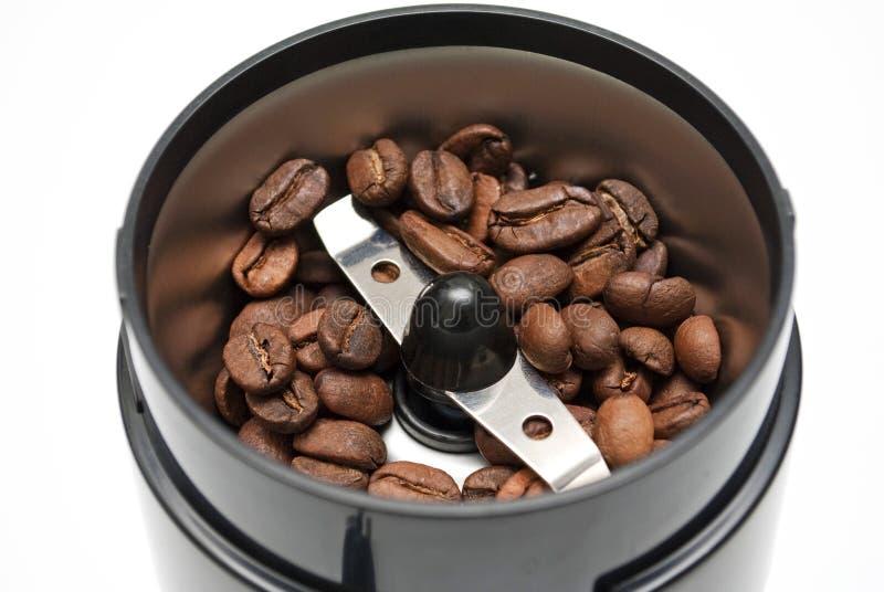Nuevas amoladoras de café eléctricas modernas imagen de archivo libre de regalías