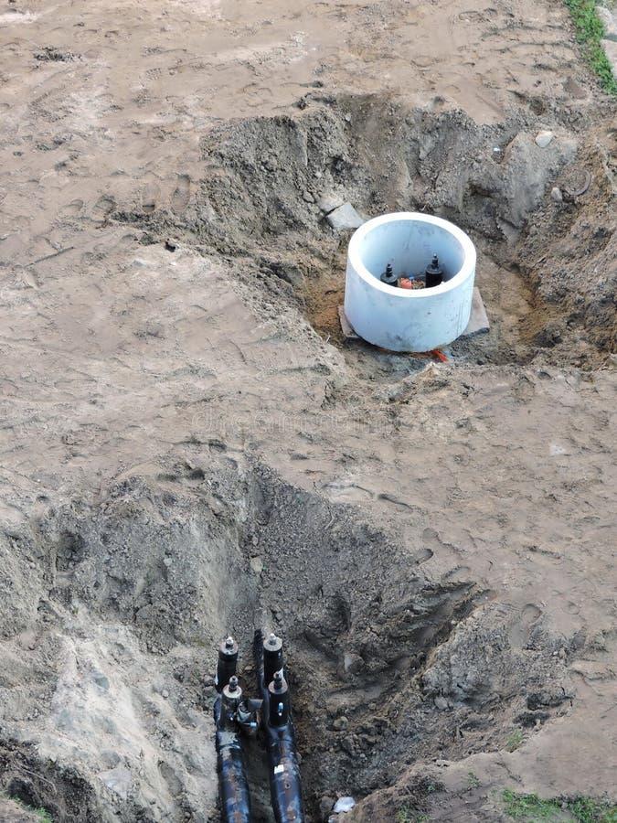 Nuevas comunicaciones para el agua imagen de archivo
