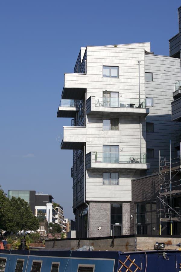 Nuevas construcciones de viviendas fotografía de archivo libre de regalías