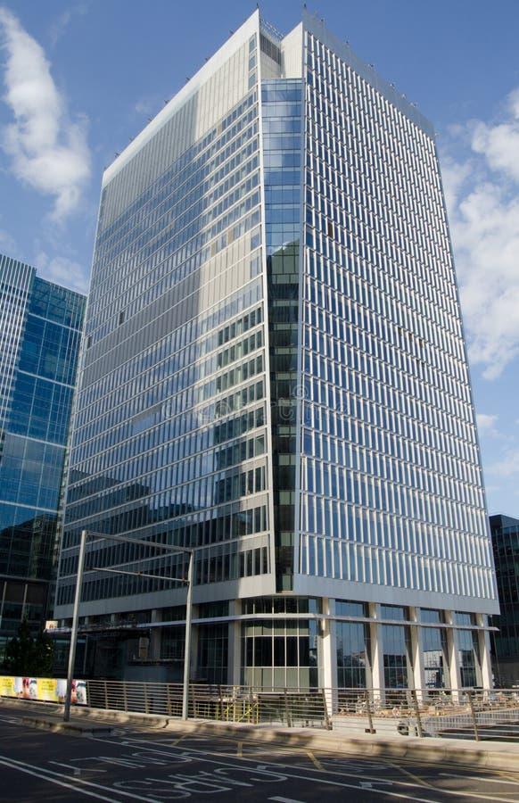 Nuevas oficinas, Docklands fotos de archivo libres de regalías