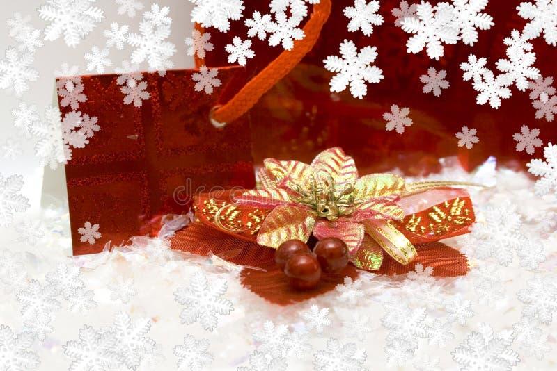 Nuevo-año festivo postal fotos de archivo