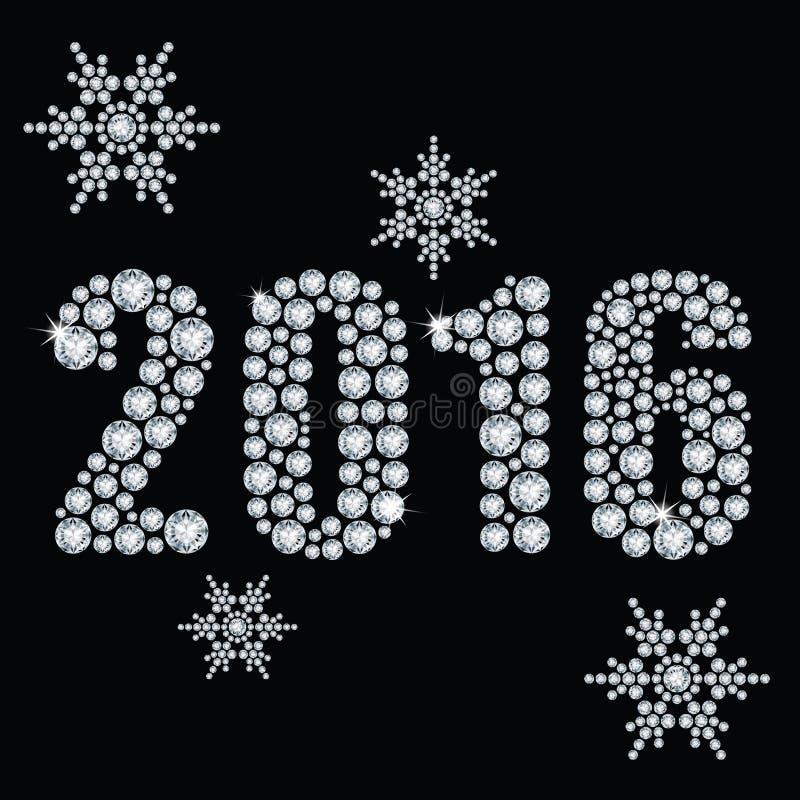 Nuevo 2016 años libre illustration