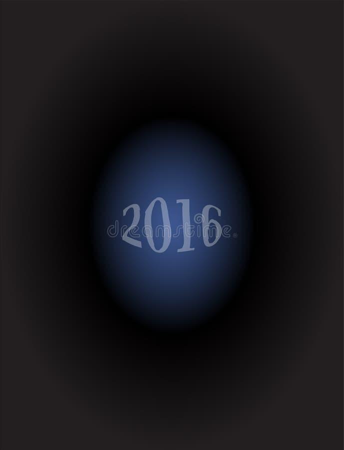 Nuevo 2016 años feliz Diseño colorido, concepto del día de fiesta fotografía de archivo