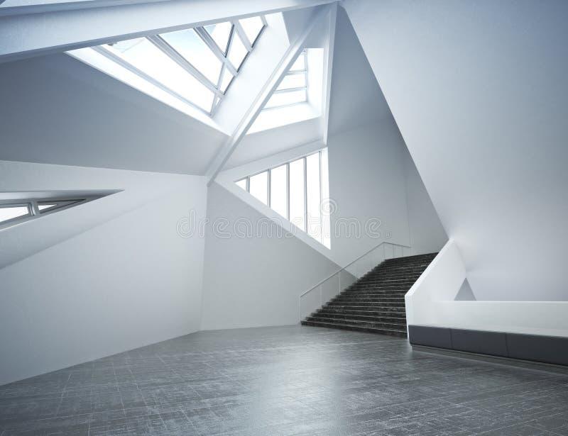 Nuevo interior moderno ilustración del vector
