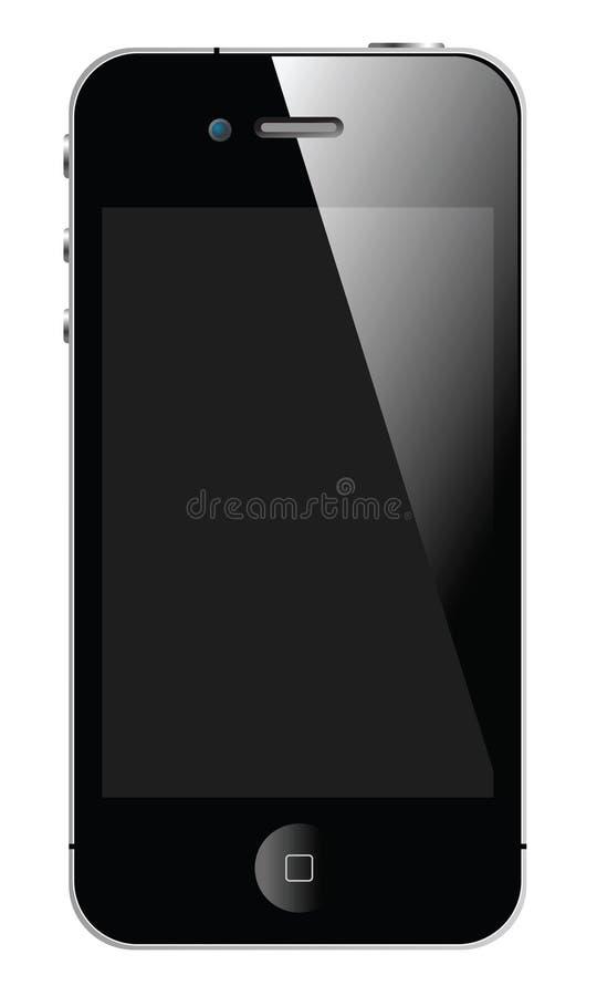 NUEVO APPLE IPHONE 4S stock de ilustración